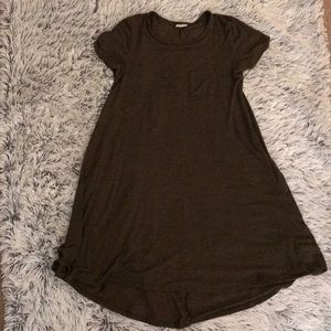 "[ LuLaRoe ] ""Carly"" Teeshirt Dress"